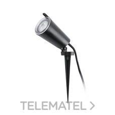 FARO 71528 Aplique/estaca TONI LED GU10 8W IP65 negro