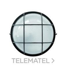 Aplique aluminio redondo 100W serie ALPHA blanco con referencia 8301 B de la marca FENOPLASTICA.