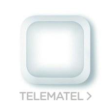 Aplique cuadrado policarbonato led 4000K detector blanco con referencia 8323 B LED/DET de la marca FENOPLASTICA.