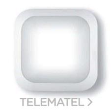 Aplique cuadrado policarbonato led 4000K detector blanco con referencia 8323BLED/DET de la marca FENOPLASTICA.