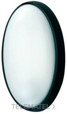 Aplique estanco oval E-27 IP44 anclaje sin tornillo blanco con referencia 7400 B de la marca FENOPLASTICA.