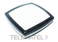 Aplique estanco serie BETA 60W IP45 aluminio negro con referencia 7780 N de la marca FENOPLASTICA.