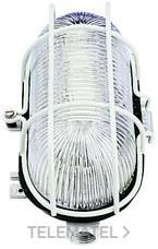 Aplique oval aluminio 100W con referencia 7011 G de la marca FENOPLASTICA.
