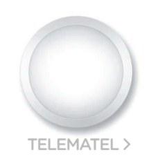 Aplique redondo policarbonato led 4000K detector negro con referencia 8322NLED/DET de la marca FENOPLASTICA.