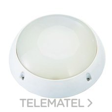 Aplique redondo policarbonato led 4500K blanco con referencia 8318 B LED de la marca FENOPLASTICA.