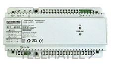 ALIMENTADOR 12VAC-1,5A/18VDC-1,5A DIN10 con referencia 4810 de la marca FERMAX.