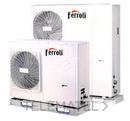 Bomba de calor aerotérmica inverter RVL I PLUS 14 E para climatización y producción de ACS, en instalación monobloc y sistema DC Inverter con referencia 4B2170149 de la marca FERROLI.