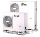 Bomba de calor aerotérmica inverter RVL I PLUS 14T E para climatización y producción de ACS, en instalación monobloc y sistema DC Inverter con referencia 4B2170169 de la marca FERROLI.