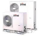 Bomba de calor aerotérmica inverter RVL I PLUS 16 E para climatización y producción de ACS, en instalación monobloc y sistema DC Inverter con referencia 4B2170159 de la marca FERROLI.