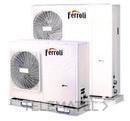 Bomba de calor aerotérmica inverter RVL I PLUS 16T E para climatización y producción de ACS, en instalación monobloc y sistema DC Inverter con referencia 4B2170179 de la marca FERROLI.