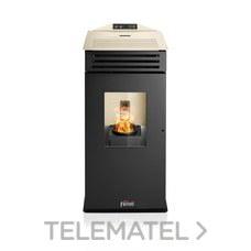Estufa pellet LIRA PLUS 6,33Kw con referencia 1B3610067 de la marca FERROLI.