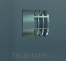 DEFLECTOR EVACUACION HORIZONTAL DIAMETRO 80mm INOXIDABLE con referencia 8DFH4 de la marca FIG.