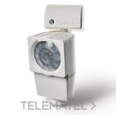 Detector de movimiento Serie 18 para montaje pared instalación exterior AC (50/60Hz) 120...230V, 1 contacto, 10A con referencia 181182300000PAS de la marca FINDER.