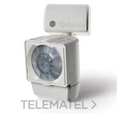 Detector de movimiento Serie 18 para montaje pared instalación interior AC (50/60Hz) 120...230V, 1 contacto, 10A con referencia 180182300000PAS de la marca FINDER.