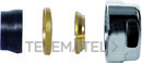 Adaptador tubo de cobre diámetro 14mm cromado con referencia PVLAC14 de la marca FIORA.