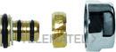 Adaptador tubo multicapa diámetro 16x2mm cromado con referencia PVLAM16X2 de la marca FIORA.
