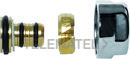 Adaptador tubo multicapa diámetro 18x2mm cromado con referencia PVLAM18X2 de la marca FIORA.
