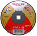 DISCO CORTE FCD-FP 115x1,0x22,23mm con referencia 531709 de la marca FISCHER.