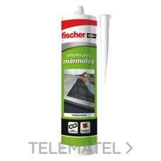 SILICONA MARMOLES TRANSPARENTE con referencia 20742 de la marca FISCHER.