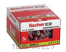 FISCHER 555008 FISCHER Taco DUOPOWER   8 x 40   555008 c/100