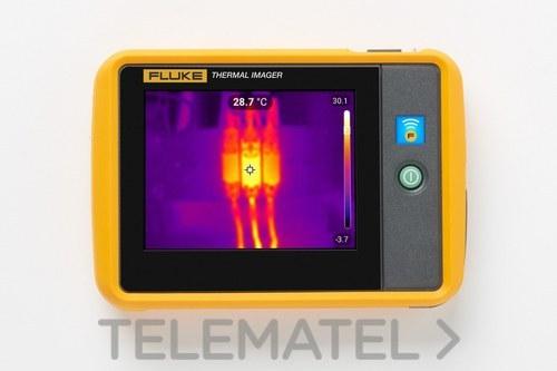 Cámara termográfica de bolsillo FLK-PTI120 9Hz con referencia 5074148 de la marca FLUKE.