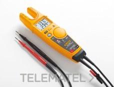 Comprobador eléctrico T6-1000/EU FieldSense medidor de tensión de hasta 1000 V CA con la mordaza abierta con referencia 4910257 de la marca FLUKE.
