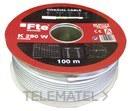 CABLE COAXIAL 750h DIAMETRO 4,6 K290W PVC BLANCO con referencia 0703408 de la marca FTE-MAXIMAL.