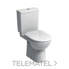 Inodoro Suelo Abalona Cisterna Baja Oculta Blanco