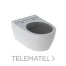 Inodoro suspendido iCon Rimfree blanco con referencia 204060000 de la marca GEBERIT.