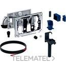 Módulo DuoFresh automático y cajón para cisterna empotrada Sigma 12cm gris antracita RAL 7016 con referencia 115.050.BZ.1 de la marca GEBERIT.