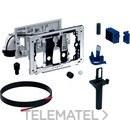 Módulo DuoFresh automático y cajón para cisterna empotrada Sigma 8cm cromado brillante con referencia 115.052.21.1 de la marca GEBERIT.