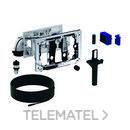 Módulo DuoFresh manual y cajón para cisterna empotrada Sigma 8cm gris antracita RAL 7016 con referencia 115.053.BZ.1 de la marca GEBERIT.