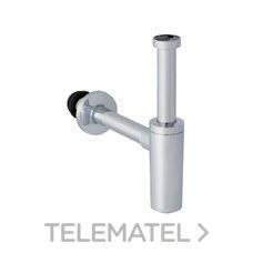 SIFON BOTELLA LAVABO 40mm 1.1/4'' CROMADO BRILLANTE con referencia 151.035.21.1 de la marca GEBERIT.