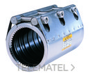ABRAZADERA INOXIDABLE GRIP-L DN50 DIAMETRO 63mm ANILLO FIJACION con referencia 65.02.062063.15 de la marca GEBO.