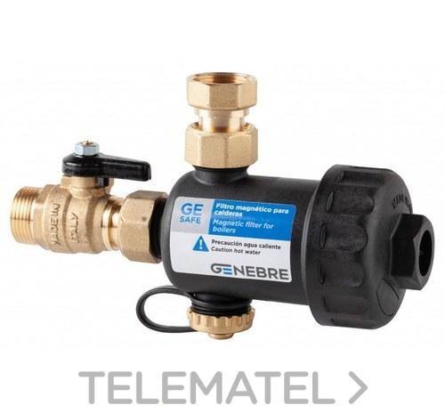 """Filtro magnético para caldera GE-SAFe 3/4"""" con referencia 73070 05 00 de la marca GENEBRE."""