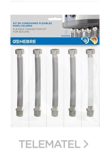 Kit de tubos y conexiones para instalación de caldera con referencia K3770 00 de la marca GENEBRE.