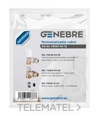 Kit GE termotizable cobre 700480400 + 705640400 + 700701520 con referencia 79001 04 15 de la marca GENEBRE.
