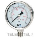 MANOMETRO DIAMETRO 100 CON GLICERINA 0-4 INOXIDABLE con referencia 3824 004 de la marca GENEBRE.