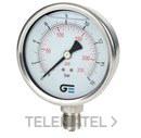 MANOMETRO DIAMETRO 100 CON GLICERINA 0-40 INOXIDABLE con referencia 3824 040 de la marca GENEBRE.