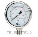 MANOMETRO DIAMETRO 100 CON GLICERINA 0-6 INOXIDABLE con referencia 3824 006 de la marca GENEBRE.