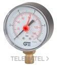 MANOMETRO RADIAL 0-4 DIAMETRO 63 INDICADOR ROJO con referencia 3825 004 de la marca GENEBRE.
