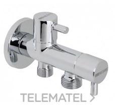 Válvula de manguera con dos salidas independientes con referencia 3109 04 de la marca GENEBRE.