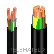 CABLE ENERGY RV-K 0,6/1KV FLEXIBLE 3G1,5 ROLLO con referencia 1996306NGP de la marca GENERAL CABLE.