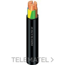 CABLE ENERGY RV-K FOC 1KV 1x6mm2 NEGRO con referencia 1994109NGP de la marca GENERAL CABLE.