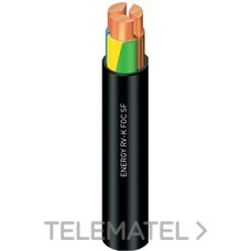 CABLE ENERGY RV-K FOC 1KV 4G6mm2 NEGRO con referencia 1994409NGP de la marca GENERAL CABLE.