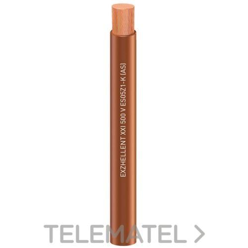 Cable Exzhellent 750V 1x6mm2 C100 amarillo verde con referencia 1656109AVP de la marca GENERAL CABLE.