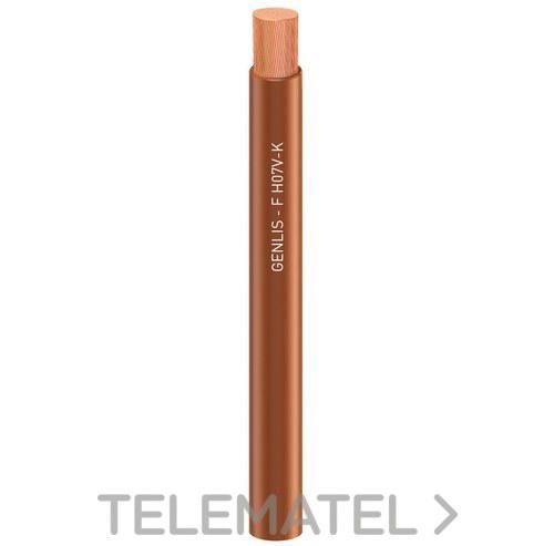 CABLE GENLIS-F 1x1,5 H05V-K/H07V-K amarillo con referencia 1174106AMP de la marca GENERAL CABLE.