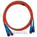 LATIGUILLO MULTIMODO 50/125 DUPLEX MTRJ-MTRJ 1m con referencia CF3MMD199P de la marca GENERAL CABLE.
