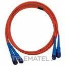 LATIGUILLO MULTIMODO 50/125 OM3 DUPLEX MTRJ-ST 1m con referencia CF3MTD199P de la marca GENERAL CABLE.