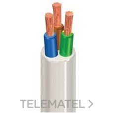 MANGUERA BIGGFLEX 2x1,5mm2 H05VV-F BLANCO con referencia 1175206BLP de la marca GENERAL CABLE.